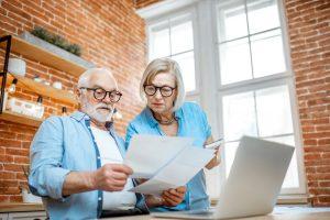 reviewing retirement finances